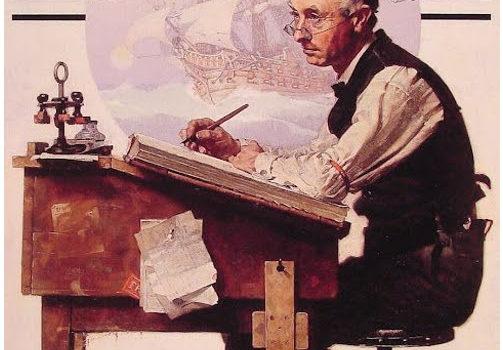 Πως βλέπειτον «Λογιστή», η Τέχνη της Ζωγραφικής.